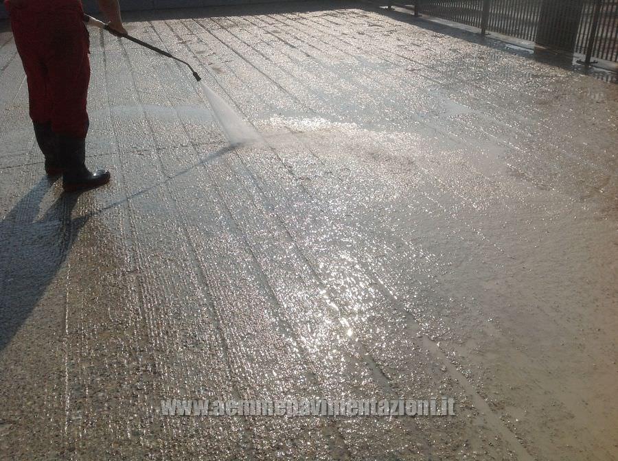 Recupero pavimenti di edificio condominiale con - Idropulitrice per pavimenti interni ...