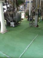 Poliuretano cemento verde