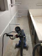 Risanamento pavimento di caseificio con poliuretano cemento