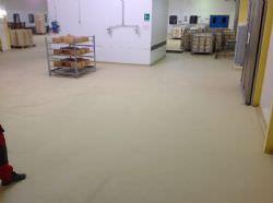 Recupero pavimento ammalorato in clinker presso industria casearia
